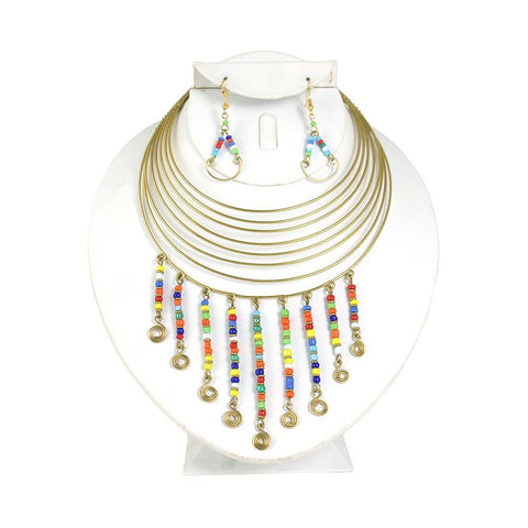 Diata Choker & Earring Set