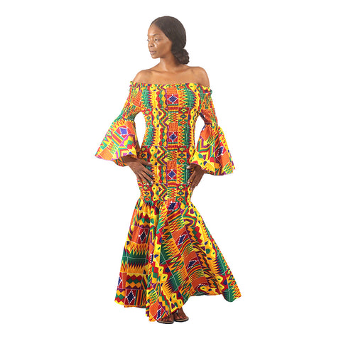 TheMotherland.online Fayola	Maxi Dress