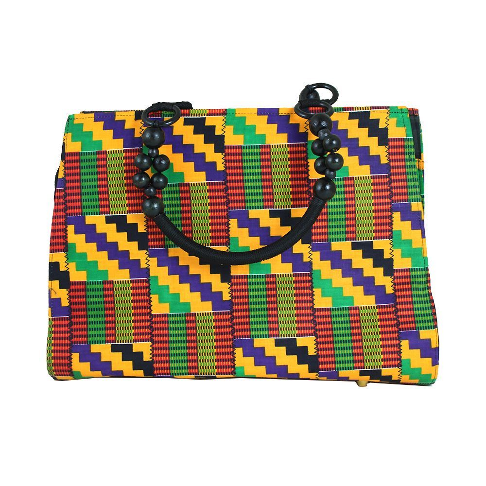 Ghanaian Hand-Crafted Kente Purse