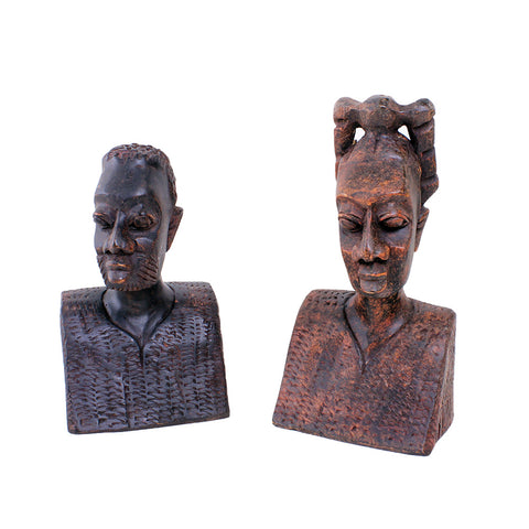 Ghanaian Sculpture Set