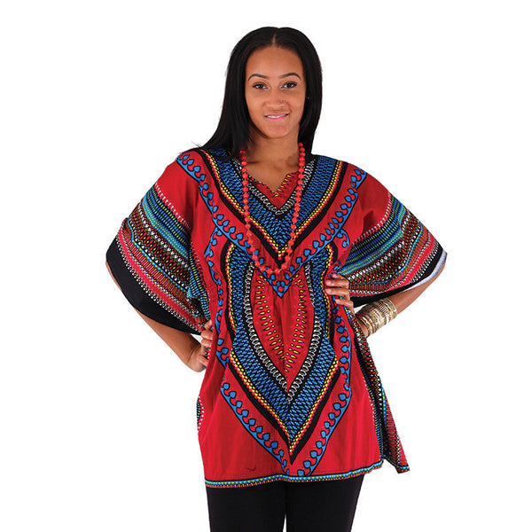 Ladies Elastic Waist Luxury Dashiki