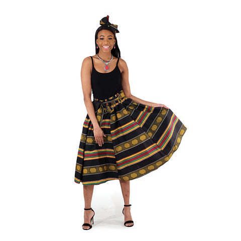 Kente Design Skirts