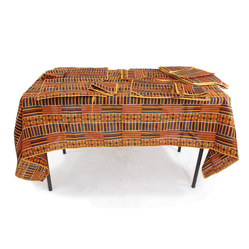Hand-crafted Kente Dining Set