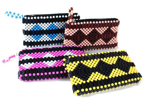 Hand-Crafted Beaded Clutch
