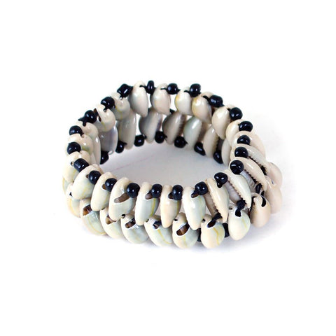 Handcrafted Kodi Cowry Shell Beaded Bracelet