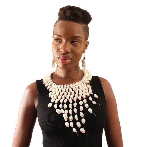 TheMotherland.online Adenike Necklace and Earring Set