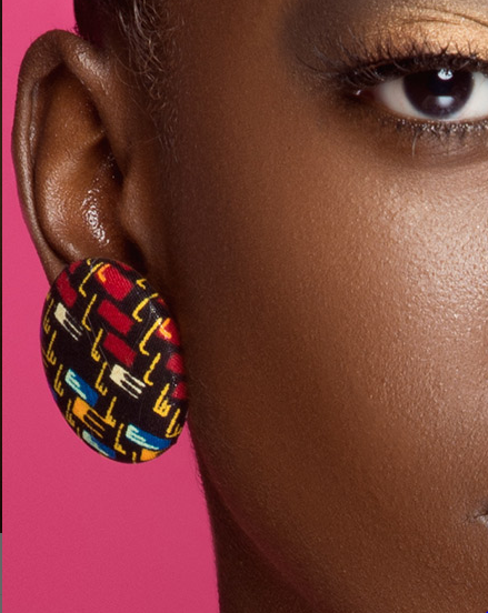 Lagina Kitenge Choker and Earring Set