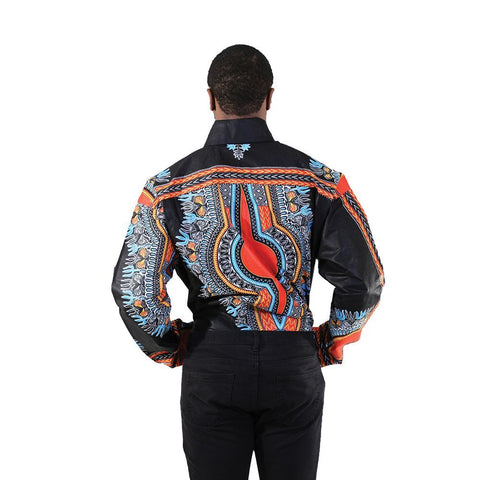 Men's Ghanaian Traditional Shirt