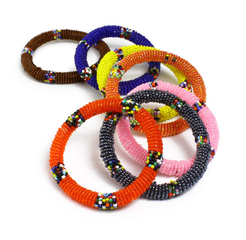Maasai Beaded Bangle