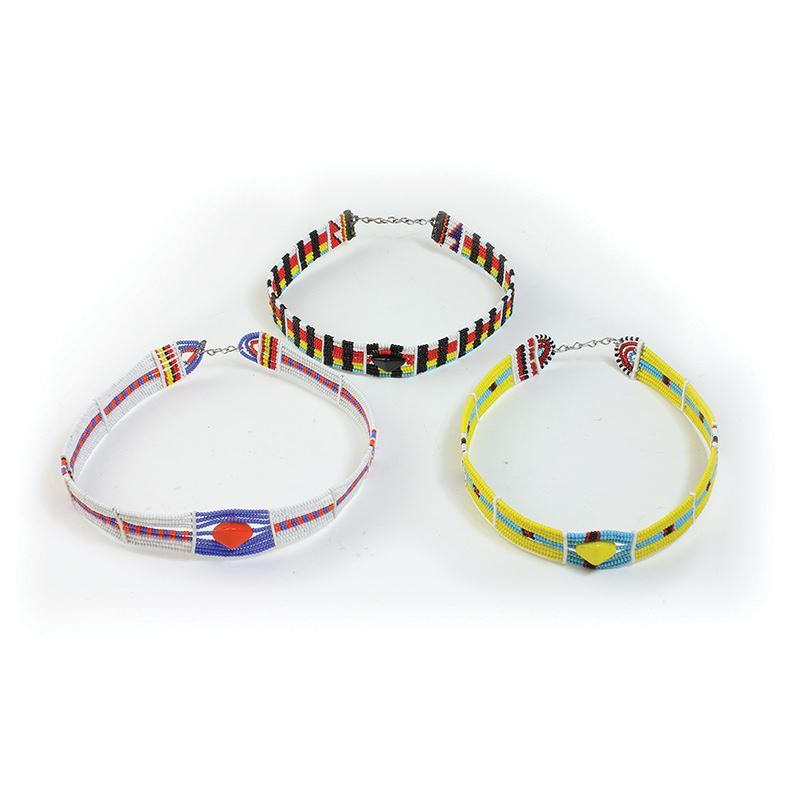 Maasai Beaded Choker