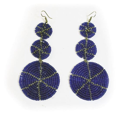 Maasai Multi Disc Earrings