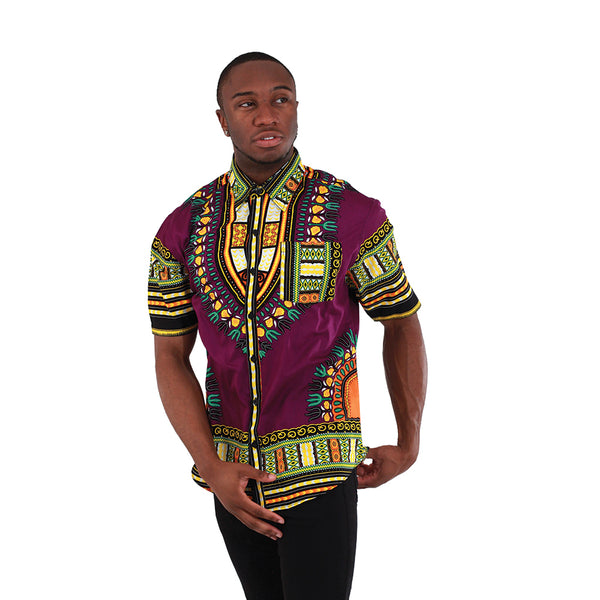 Men's Traditional Print Shirt