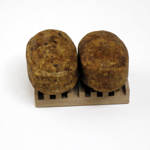 Natural Raw Shea Butter Black Soap Bars