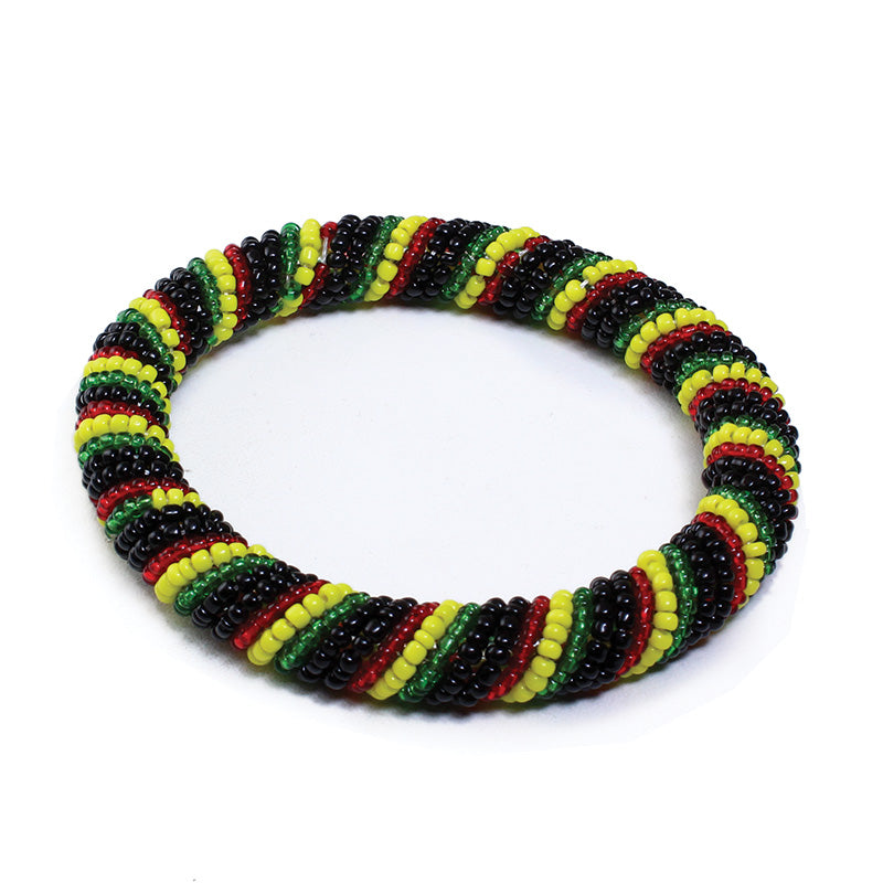 Pan African Maasai Beaded Bangle
