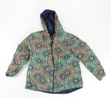 Ladies Reversible African Print Hooded Jacket