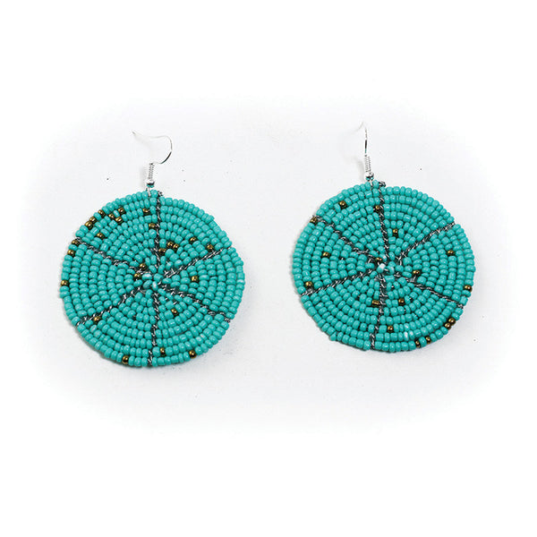Hand-crafted Maasai Beaded Earrings
