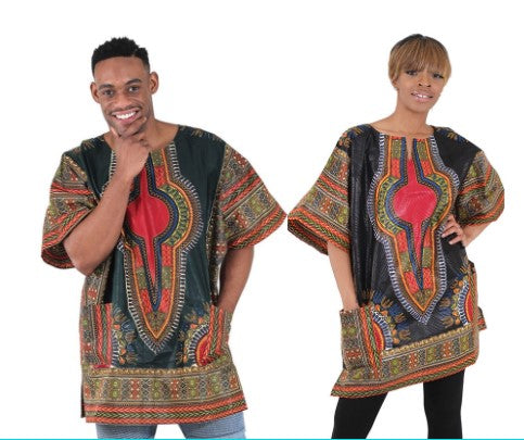 Unisex Senegalese Traditional Dashiki