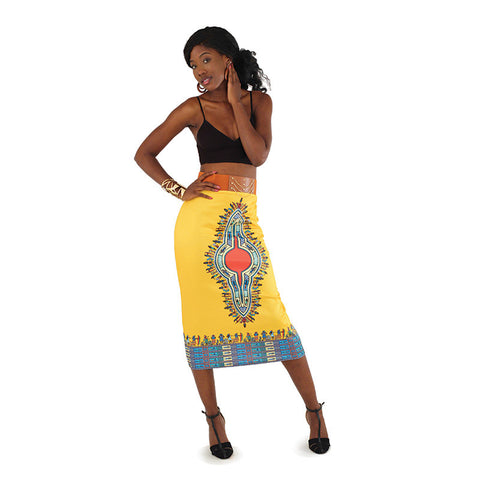 Traditional Cotton Stretch Skirt