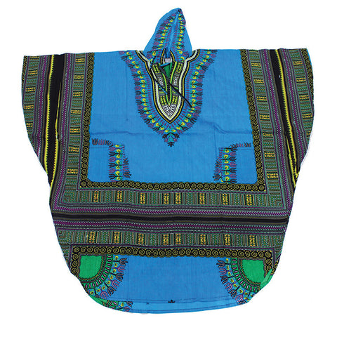 Unisex Oversized Traditional Hoodie Dashiki Poncho