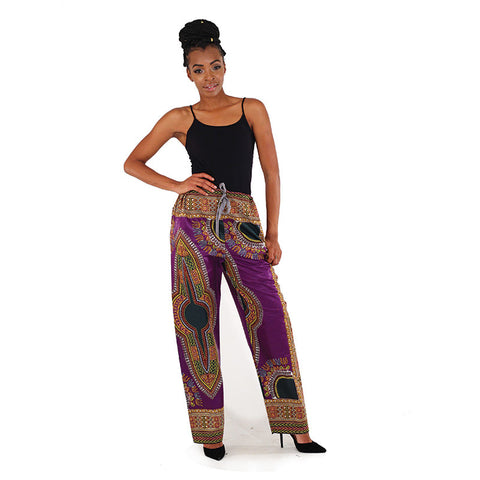 Ladies Premium Traditional Print Pant