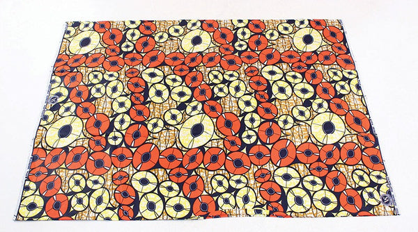 Assortment 100% Cotton African Print Fabric - 6 yards
