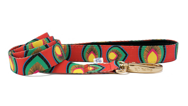 Tail Trip Paprika Design Dog Leash