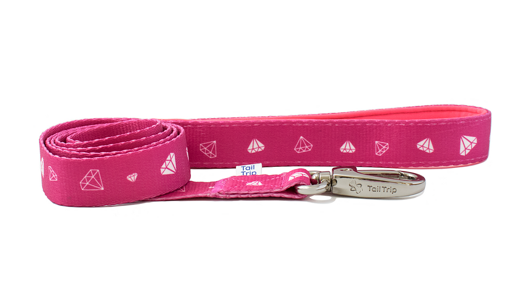 Tail Trip Pinkie Design Dog Leash