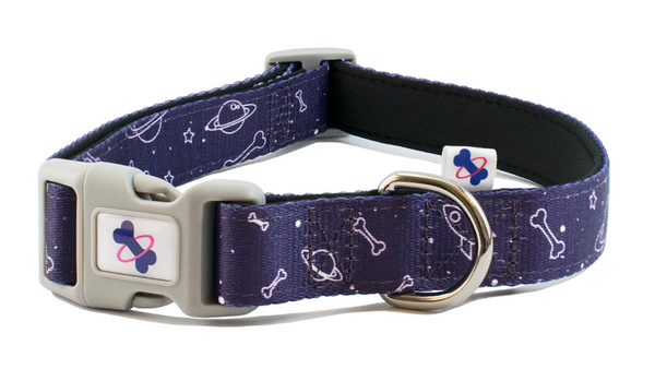 Tail Trip Dog Collar Space Design