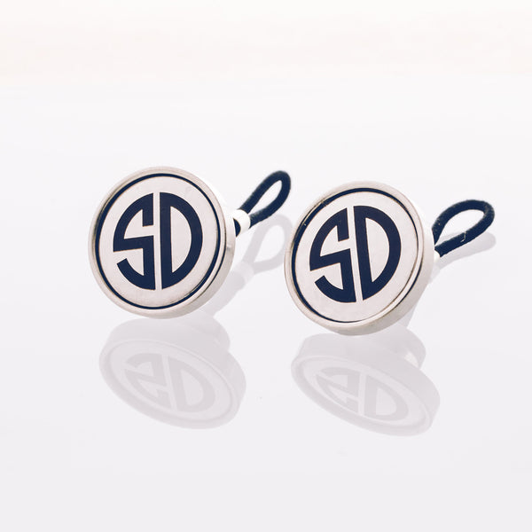 Engraved Stainless Steel // Stainless Cufflink