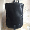 Roulez Satchel Leather Black