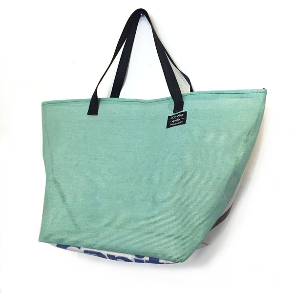 Recycled Banner Tote Bag