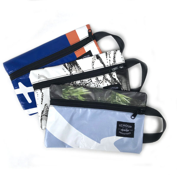 Zip Pouch Recycled Banner