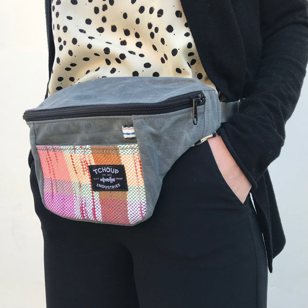 Fanny Pack w/ Raphael Woven Panel