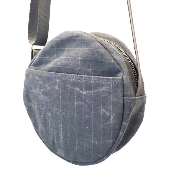 Le Tour Purse Charcoal w/ Leather