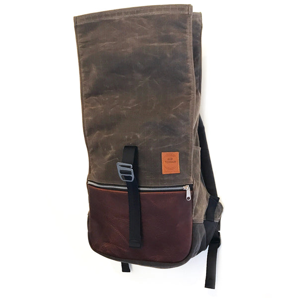 Roulez Pack Oak w/ Rich Brown Leather