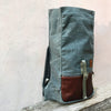 Roulez Pack Charcoal w/ Rich Brown Leather