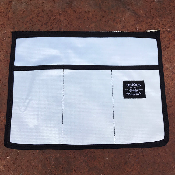 Utility Pouch Recycled Banner