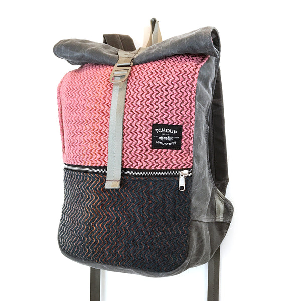 Roulez Pack Charcoal w/ Bayou Roseate Woven