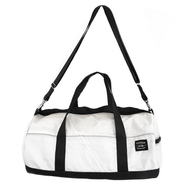 Round Duffel Recycled Sail Cloth