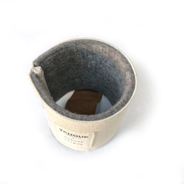 Insulated Drink Holder Wool