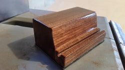 Black Walnut Business Card Holder