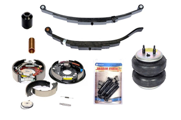 Light Duty Trailer Parts For Sale | Axle Brake and Suspension  | STS Trailer and Truck Equipment NY
