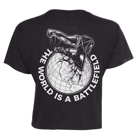 Battlefield Crop Shirt