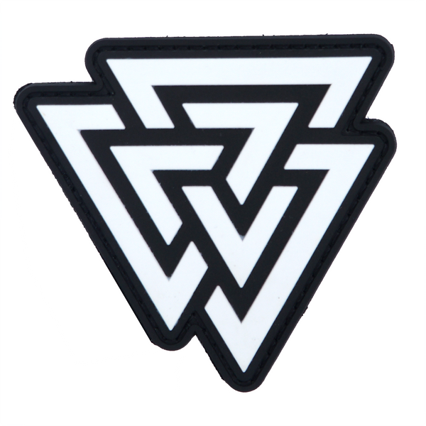 Valknut PVC Patch