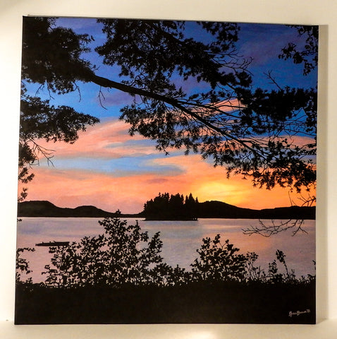 Night on Mary Lake (Limited Edition Print)