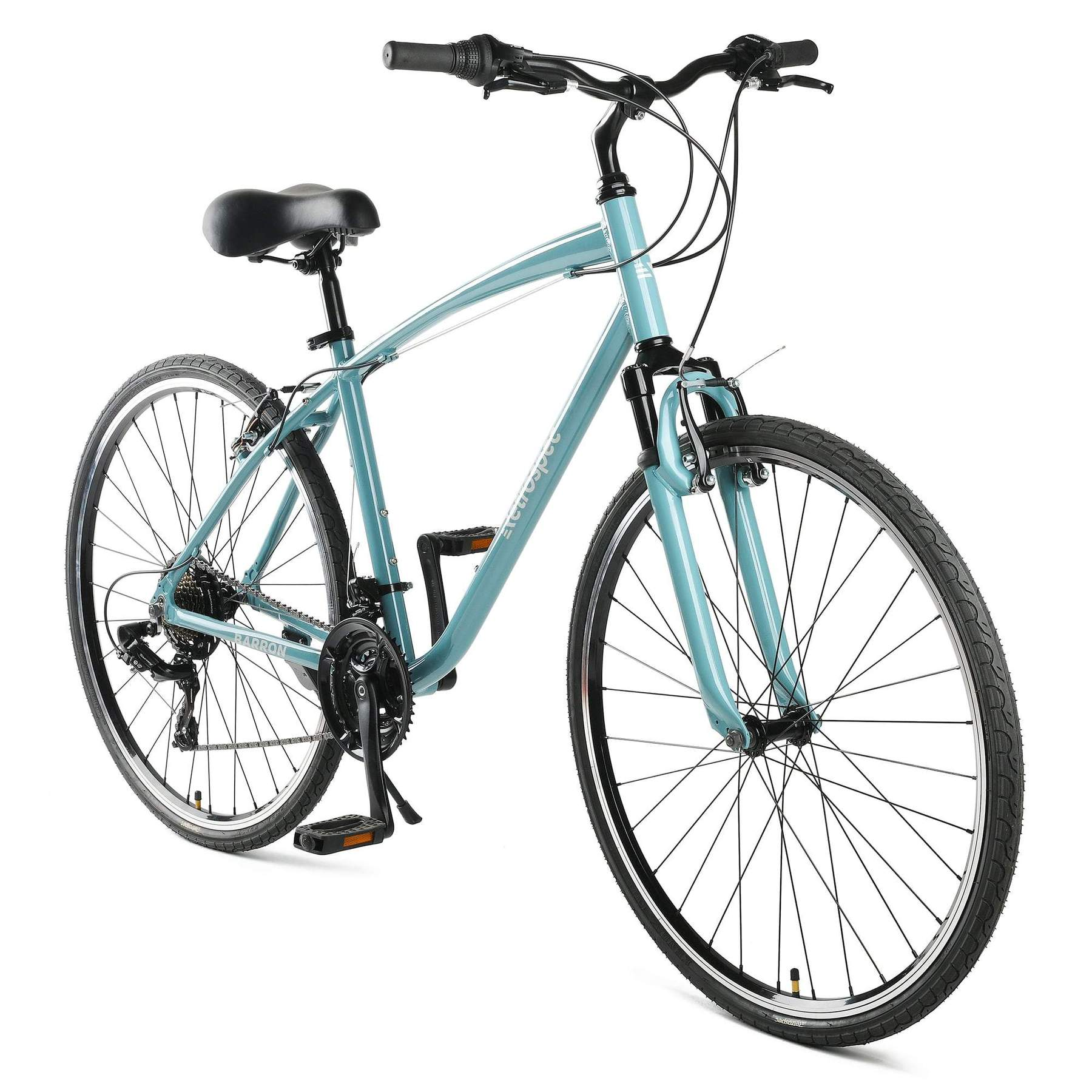Barron Hybrid Bike - Blue Fog