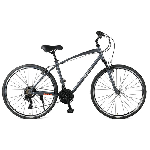 Barron Hybrid Bike - Graphite