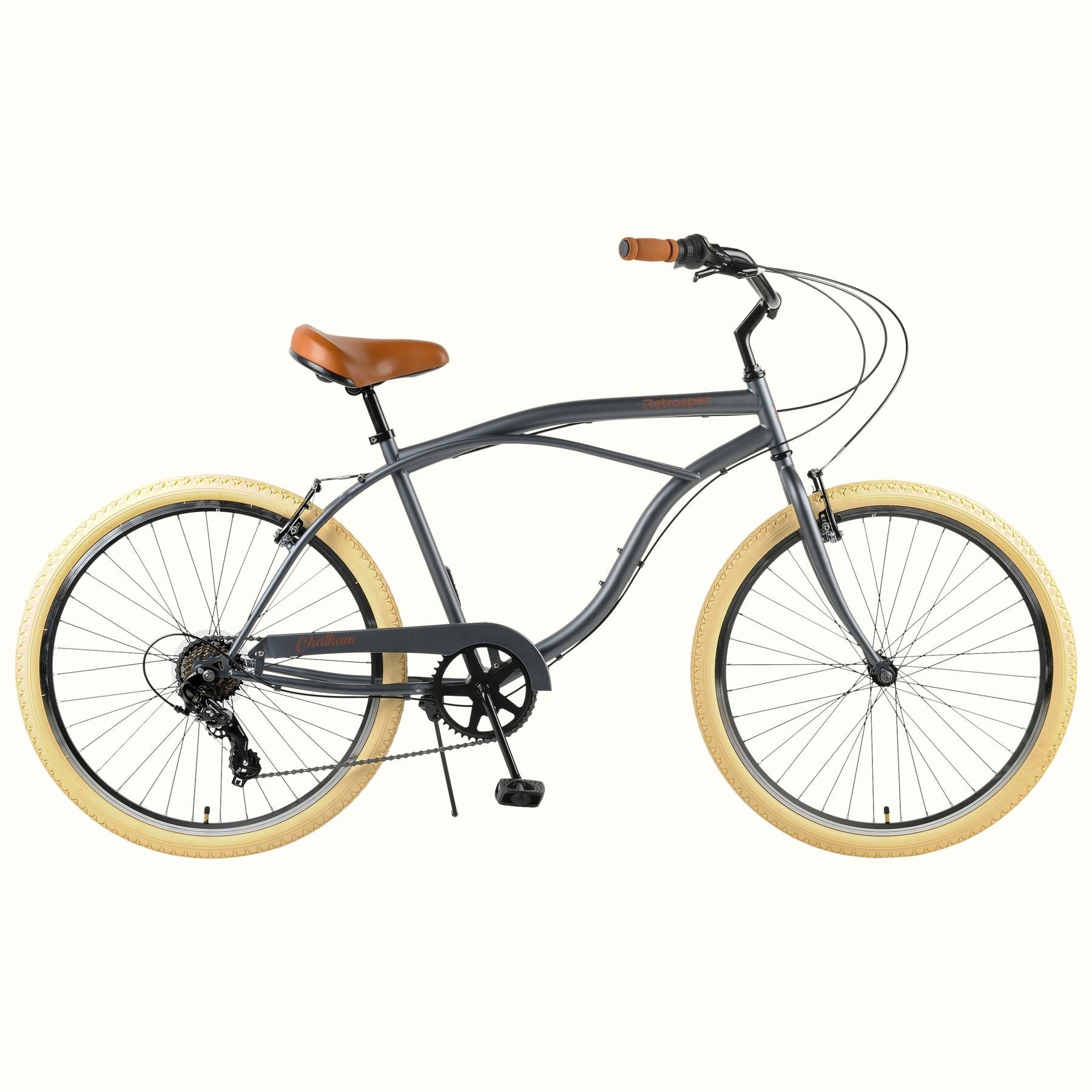 "Chatham 26"" Beach Cruiser 7S - Graphite/Beige"