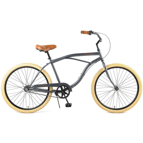 "Chatham 26"" Beach Cruiser 3S - Graphite/Beige"