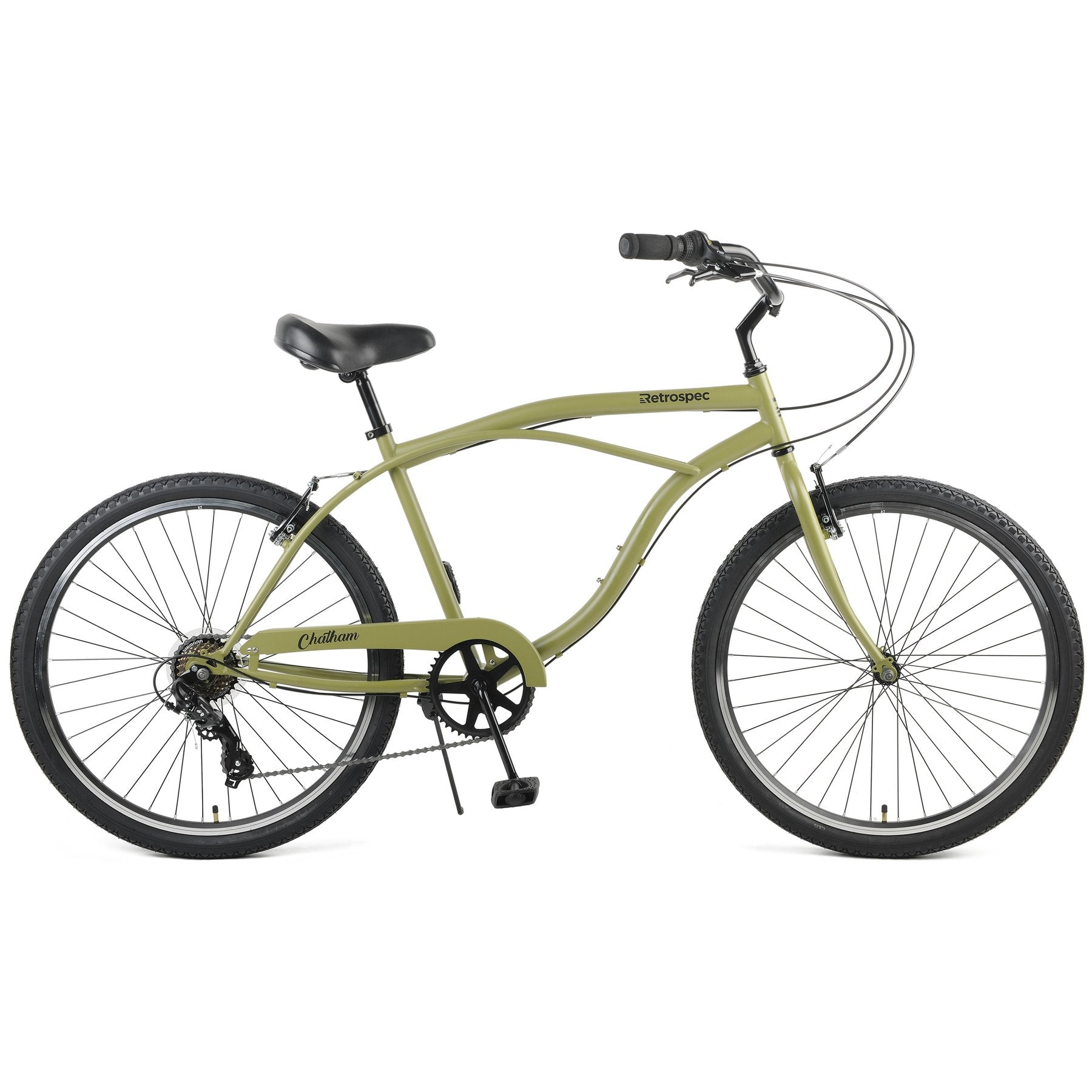 Chatham Cruiser 7Speed - Matte Military Green